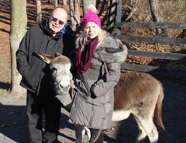 Richard & Liz with Franklin
