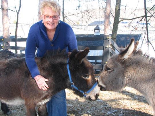 Sharon with Reggie & Casey