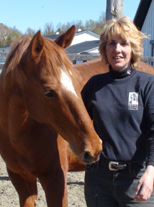 Sonya Burke at Equine Advocates