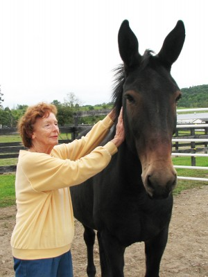 Joan Axelson and Henry