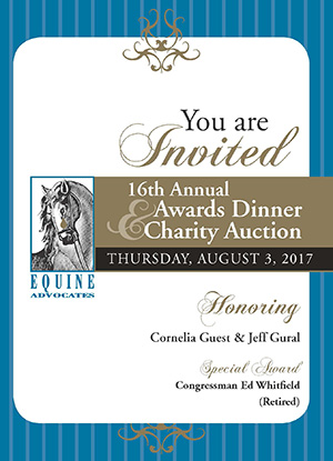 You are currently viewing Equine Advocates 16th Annual Awards Dinner & Charity Event