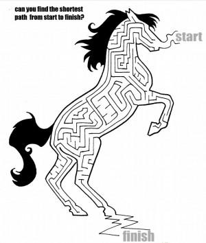 Horse Maze