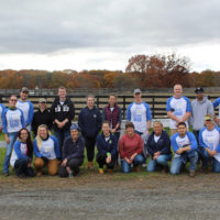 Regeneron spends Day For Doing Good at Equine Advocates