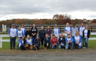 Group of Regeneron volunteers