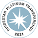 Guidestar 2020 Platinum Seal of Transparency