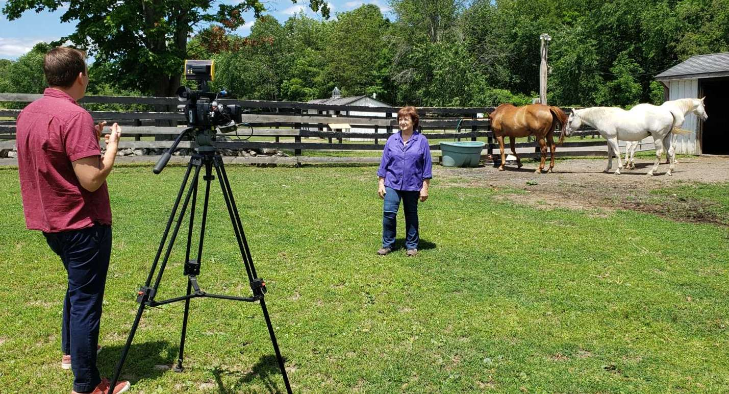 You are currently viewing Equine Advocates Featured on News 10 ABC