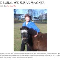 Susan Wagner Interviewed for Rural Intelligence
