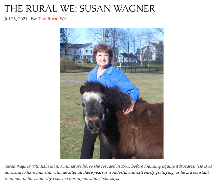 You are currently viewing Susan Wagner Interviewed for Rural Intelligence